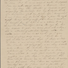 Peabody, Elizabeth [Palmer], mother, ALS to. Aug. 11, 1842.