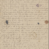 Peabody, Elizabeth [Palmer], mother, ALS to. Oct. 9-[10], 1842.