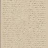 Peabody, Elizabeth [Palmer], mother, ALS to. Nov. 9, 1842.