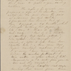 Peabody, Elizabeth [Palmer], mother, ALS to. Jan. 12, 1843.
