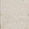 Peabody, Elizabeth [Palmer], mother, ALS  to. Mar. 23-24, 1843.