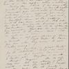 Peabody, Elizabeth [Palmer], mother, AL (incomplete?)  to. Apr. 5-8 [i.e. May 5-8], 1843.
