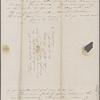 Peabody, Elizabeth [Palmer], mother, ALS (incomplete)  to. [Jun. 16?, 1843].