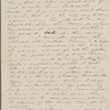 Peabody, Elizabeth [Palmer], mother, ALS (incomplete)  to. [Jul, 1843].