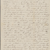 Peabody, Elizabeth [Palmer], mother, ALS to. Aug. 13-15, 1843.