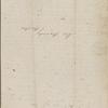 Peabody, Elizabeth [Palmer], mother, ALS to. [Aug. 20?-21, 1843].