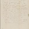 Peabody, Elizabeth [Palmer], mother, ALS to. Nov. 8, [1843].
