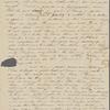 Peabody, Elizabeth [Palmer], mother, ALS to. Jan. 9, 1844.