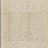 Peabody, Elizabeth [Palmer], mother, AL (incomplete) to. Jan. 21-22, 1844.