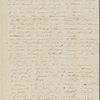 Peabody, Elizabeth [Palmer], mother, ALS to. Apr. 4, 1844.