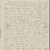 Peabody, Elizabeth [Palmer], mother, ALS to. May, [1844].