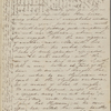 Peabody, Elizabeth [Palmer], mother, ALS to. Aug. 19-20, 1844.