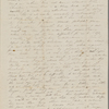 Peabody, Elizabeth [Palmer], mother, ALS to. Feb. 16, 1844 [i.e. 1845].