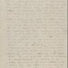 Peabody, Elizabeth [Palmer], mother, ALS to. Mar. 6, 1845.
