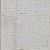 Peabody, Elizabeth [Palmer], mother, AL (incomplete) to. [Feb.? 1847]. [Previously Aug. 1846]