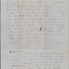 Peabody, Elizabeth [Palmer], mother, ALS (incomplete) to. [May, 1847].