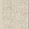 Peabody, Elizabeth [Palmer], mother, ALS to. [Oct.? 1847].