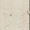 Peabody, Elizabeth [Palmer], mother, ALS to. Sep. 1848.