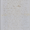 Peabody, Elizabeth [Palmer], mother, ALS (incomplete) to. [early Dec. 1848].