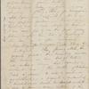 Peabody, Elizabeth [Palmer], mother, AL (incomplete) to. [spring 1849].