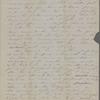 Peabody, Elizabeth [Palmer], mother, ALS to. Oct. 27, 1850.