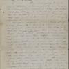 Peabody, Elizabeth [Palmer], mother, ALS to. Jan. 10, 1851.