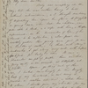 Peabody, Elizabeth [Palmer], mother, ALS to. Aug. 19, 1851.