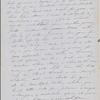 Peabody, Elizabeth [Palmer], mother, ALS to. Sep. 7, 1851.