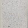 Peabody, Elizabeth [Palmer], mother, ALS to. Jun. 6, 1852.