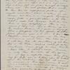 Peabody, Elizabeth [Palmer], mother, ALS to. Jun. 13, 1852.