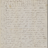 Peabody, Elizabeth [Palmer], mother, ALS to. Jul. 30, [1852].