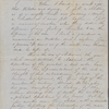 Peabody, Elizabeth [Palmer], mother, ALS to. Oct. 31 - Nov. 1, 1852.