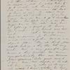 Peabody, Elizabeth [Palmer], mother, AL (incomplete) to. [1852].