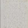 Peabody, Elizabeth [Palmer], mother, ALS to. Postscript by Nathaniel Hawthorne. [ca. Jul. 18, 1852]. Previously: [1852]