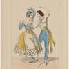 Costumes de Mme Bressant, et de Melle Esther, dans Je m'en moque comme de l'an 40. Revue