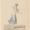 Une sylphide (Mlle Brocard) dans La mort du Tasse, opéra en 3 actes.