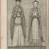 The true portraiture of a Mandarine or Governour of China, and of the lady his wife, being exactly copied from two statues brought from Macao by Captn. William Bradbent