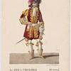 Le duc de Vendôme (Mr Aumer) dans Les pages du duc de Vendôme, ballet pantomime en 1 acte (Académie Rle. de musique).