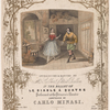 Polka à coup de baton introduced & danced by Mr. Gilbert & Miss Ballin in the ballet of Le diable à quatre. Performed at the Princess's Theatre. Composed by Carlo Minasi.