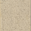 Peabody, Elizabeth P[almer, sister], ALS to. Nov. 20, [1823 or 1824]