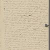 Peabody, [Elizabeth Palmer,] sister, ALS to. [Mar.] 23, [1824].