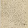 Peabody, Elizabeth P[almer, sister], AL (incomplete) to. Jun. 20, 1824.