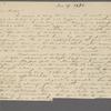 Peabody, E[lizabeth] P[almer,] sister, AL to. Jun. 29, 1825.