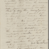 [Peabody], Elizabeth [Palmer, sister], ALS to. [1826 or 1827]