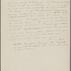 Peabody, Elizabeth P[almer, sister], ALS to. [1827?].