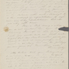 Peabody, Elizabeth P[almer, sister], ALS to. Apr. 10, [1829?]