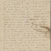 Peabody, [Elizabeth Palmer,] sister, ALS to. Feb. 9, [182-].