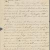 "Peabody, [Elizabeth Palmer,] sister, ALS to. [182-]. ""Today I have..."""