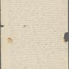 "Peabody, Elizabeth P[almer, sister], ALS to. [182-]. ""I must write..."""