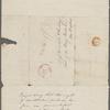 Peabody, Elizabeth P[almer, sister], ALS to. Dec. 27, [1831?].